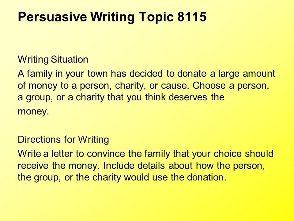capt persuasive essay questions Get an answer for 'define tone in a persuasive essay' and find homework help for other guide to literary terms, persuasive authority questions at enotes.