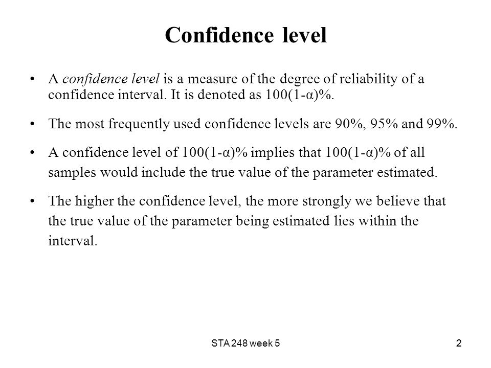 11 Confidence Intervals – Introduction A point estimate provides ...