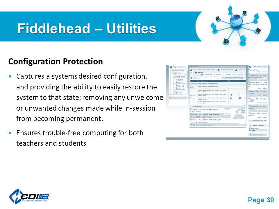 Desktop virtualization glenn collins free powerpoint templates 39 free powerpoint templates page 39 fiddlehead utilities configuration protection captures toneelgroepblik Images