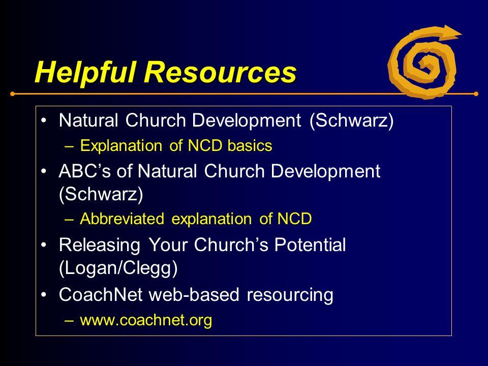 natural church development Parish development & evangelism resources for natural church development (ncd) ncd introduction ncd biotic principles power point presentation.