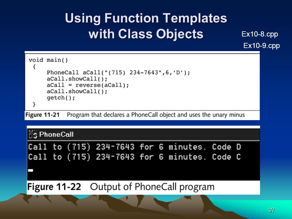 Using Templates Cosc  C Programming Lecture Ppt Download
