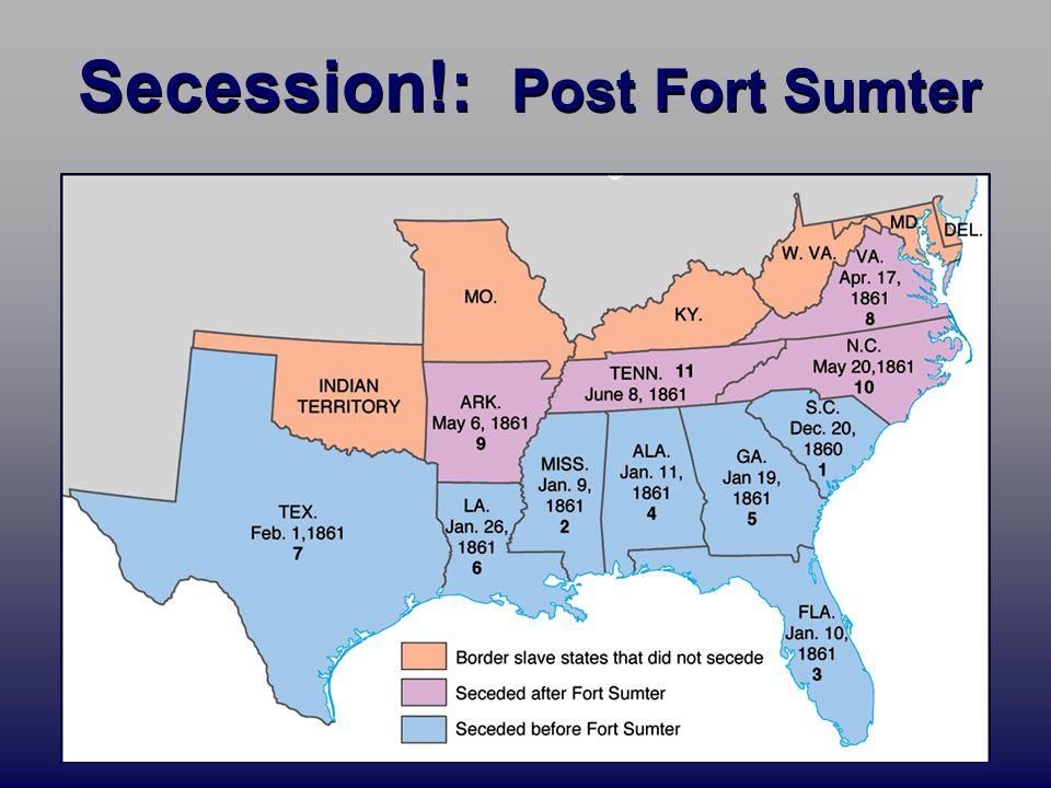 The Start Of The Civil War Fort Sumter April - Fort sumter on us map