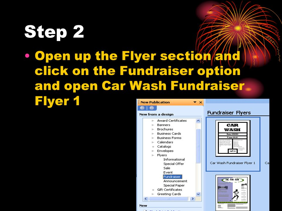 how to make a fundraiser flyer