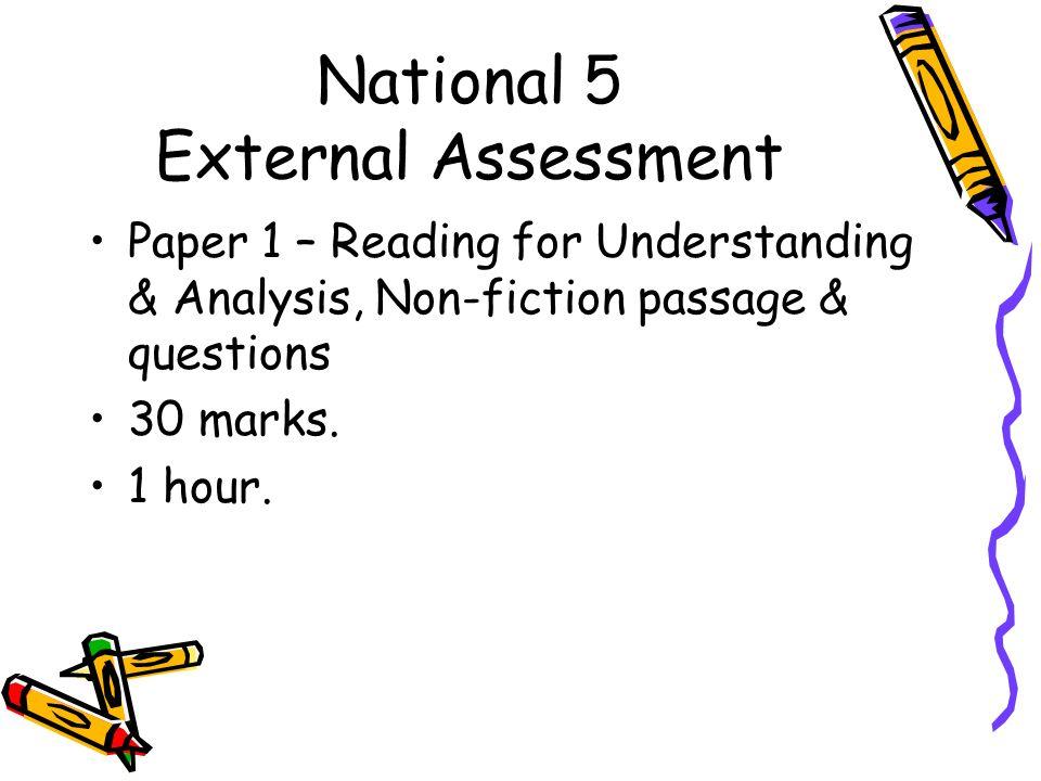 national 4 english critical essay
