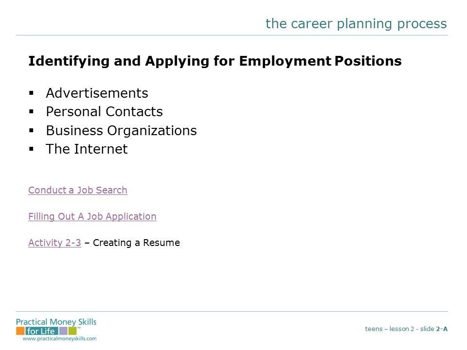 job applications for teens