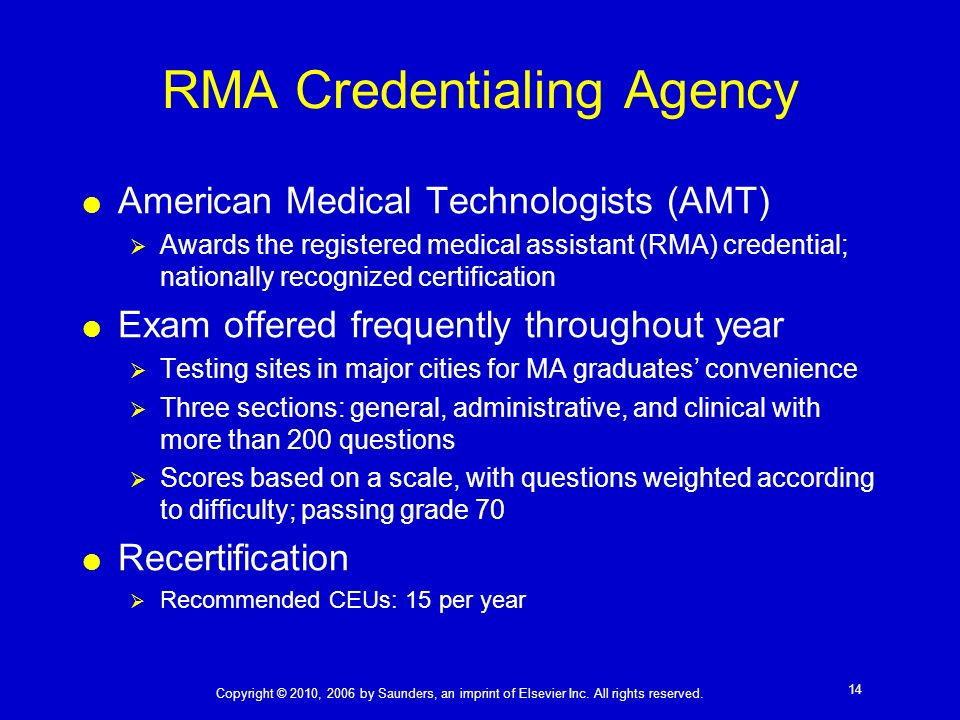 Become a Registered Medical Assistant RMA - induced.info