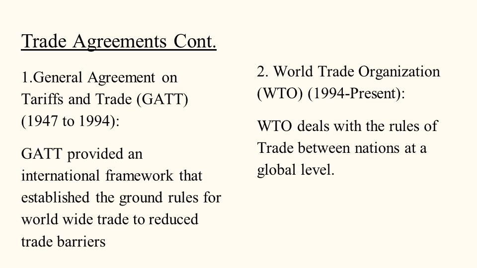 Chapter 6 Trade Barriers Regulation By Madelynn Esquivias Hang