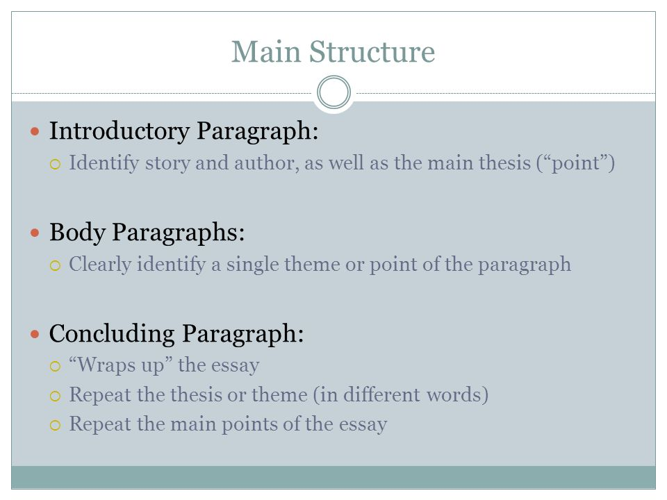 foundations comparative essays overview comparison contrast  6 main structure introductory