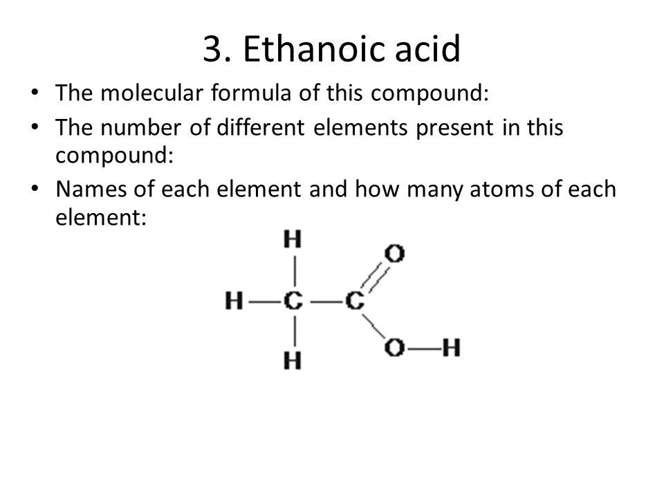 C3 Atoms Elements Compounds 35 Molecules Covalent Bonds 36