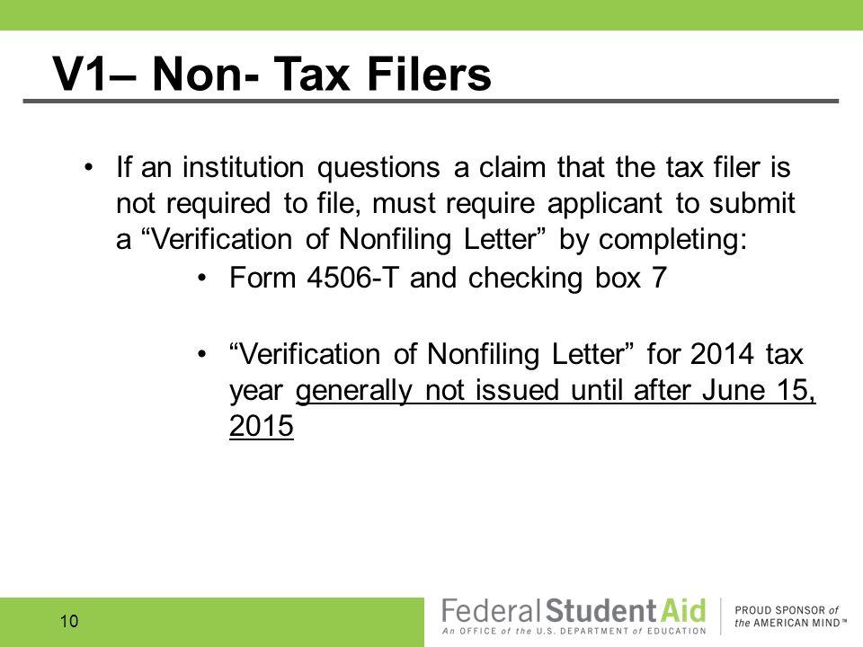 Verification Amber Johnson U.S. Department of Education WVASFAA ...