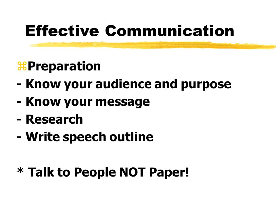 effective communication 7 essay
