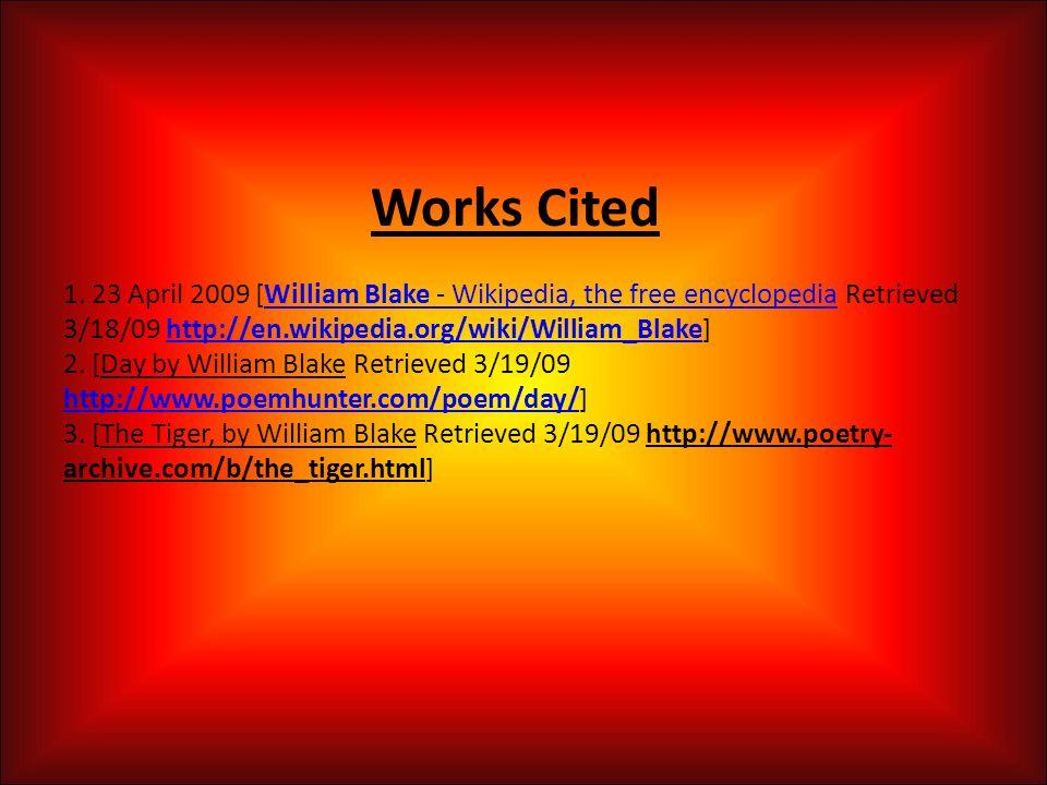 william blake wiki
