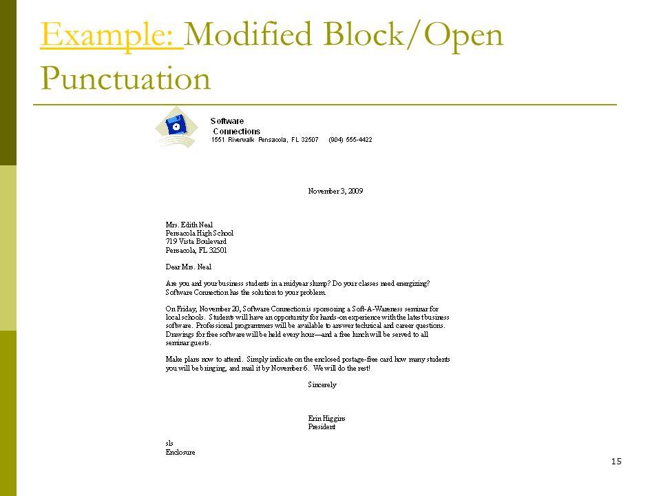 Application essay block format
