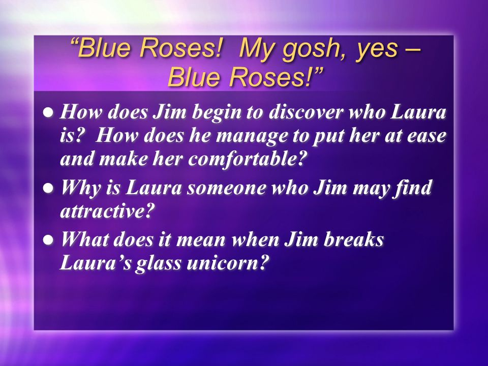 Aim How Is Lauras Illusion Of Jim Broken By Reality Do Now 6