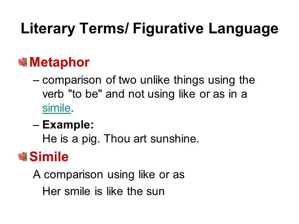 literary terminology