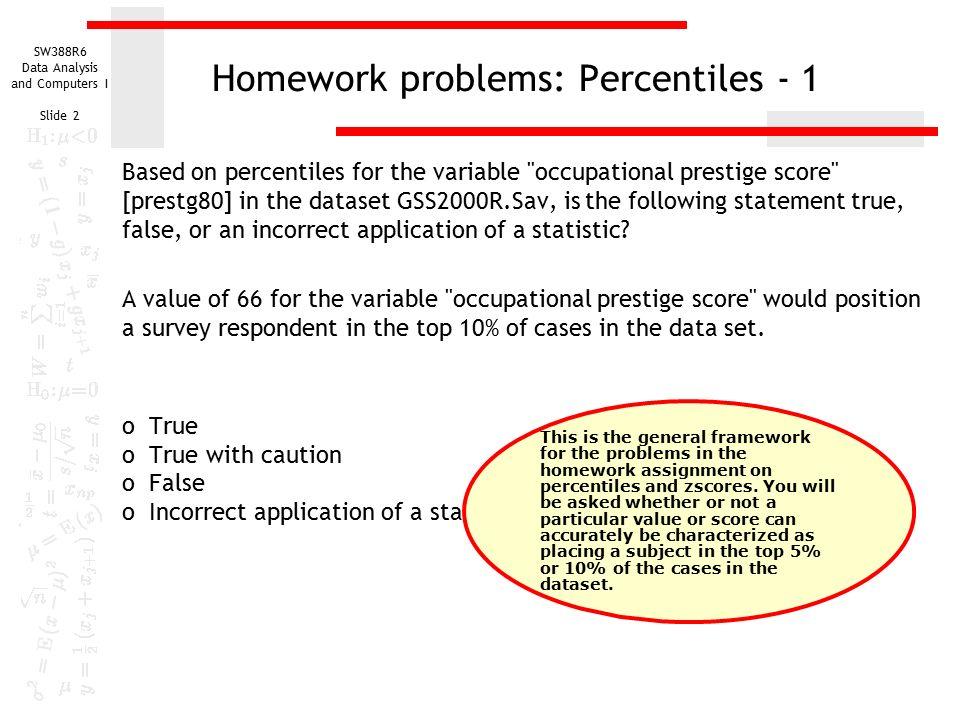 Statistics Homework Solver