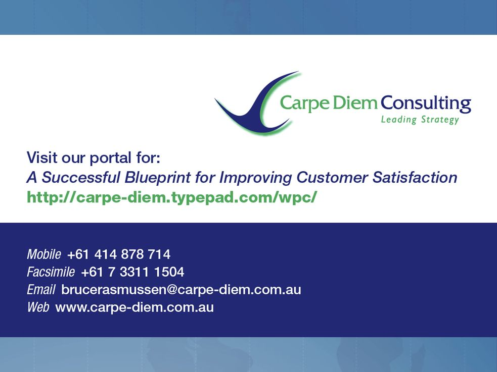A successful blueprint for improving customer satisfaction bruce 37 consulting value add readiness offer 32 days of readiness training 12k public schedule customised readiness competency certification 1 day malvernweather