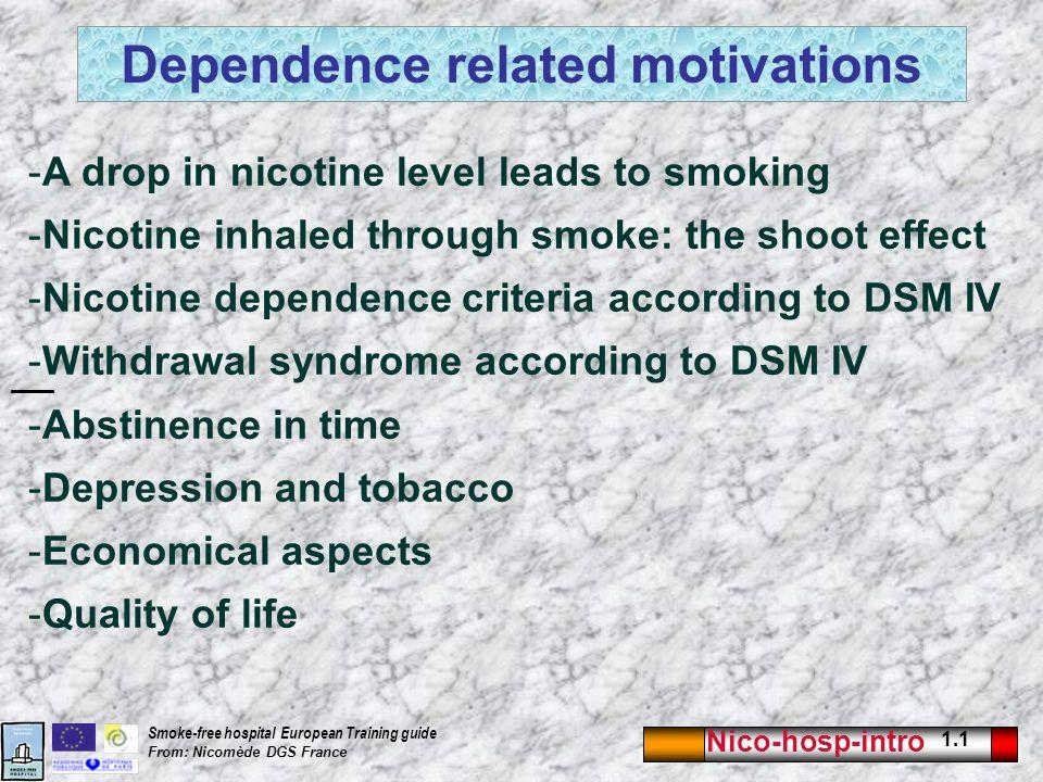 nicotine free life