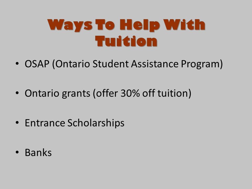 Scholarships and grants for 30+?