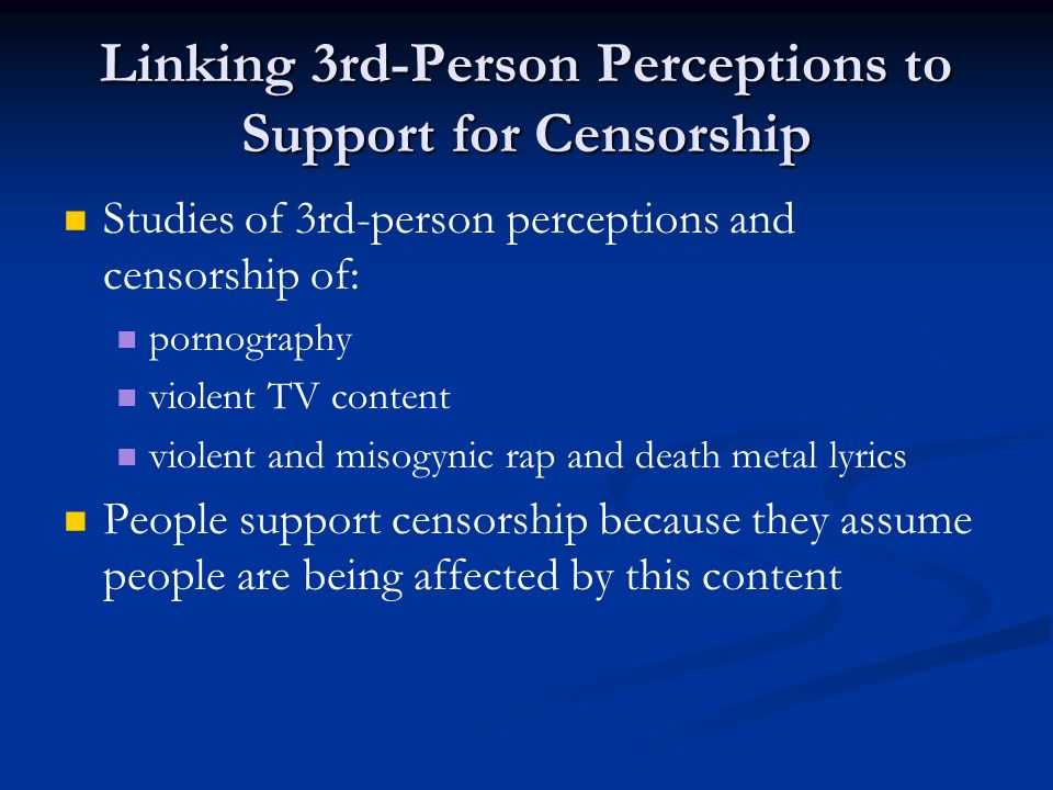 an analysis of the censorship of pornography