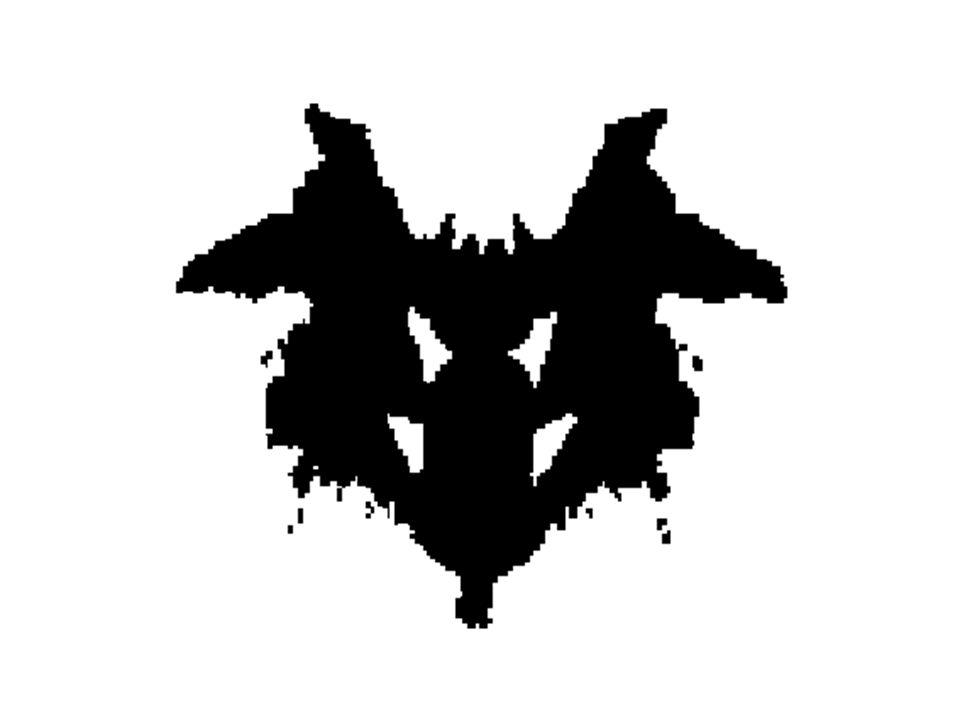 Rorschach Inkblot Test Plate X