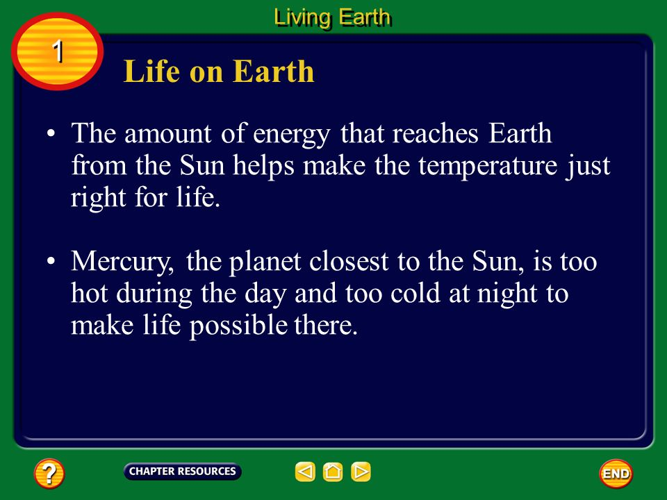 The part of Earth that supports life is the biosphere (BI uh sfihr ...