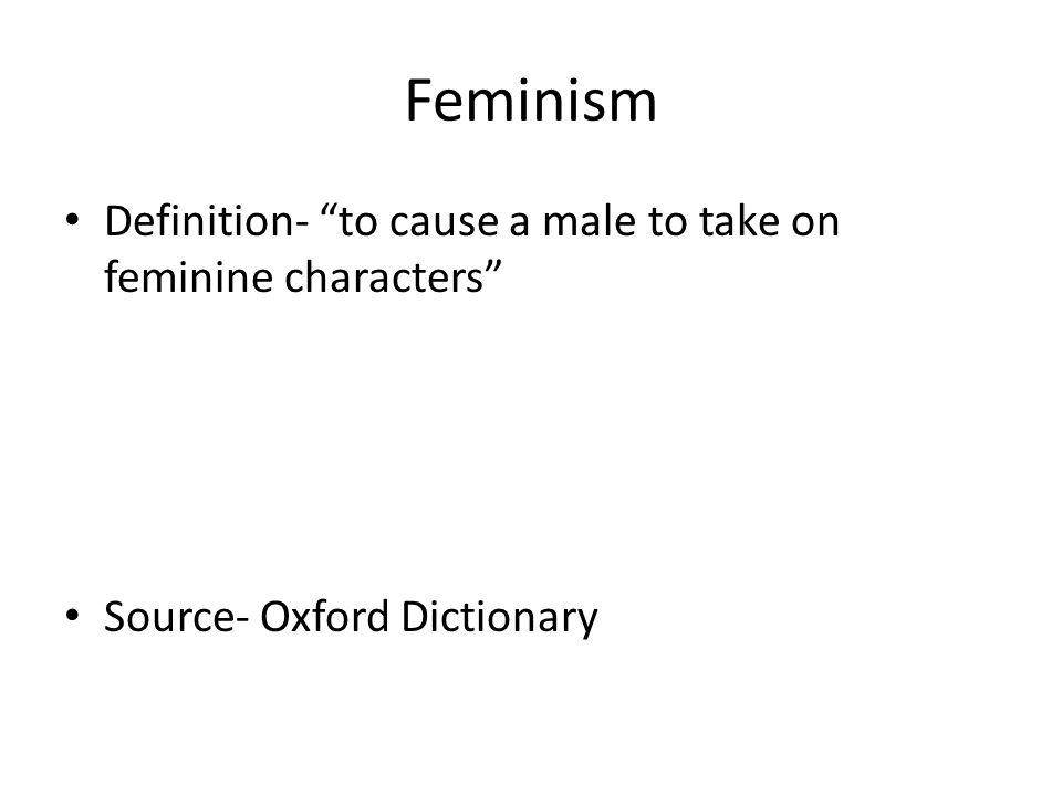 Elegant 3 Feminism Definition  ...