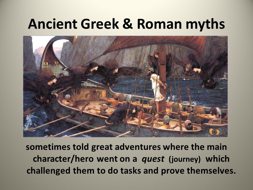 Do you know any myths that teach morals or lessons?