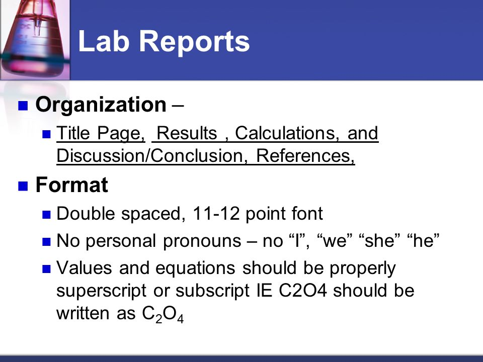 ecology lab report