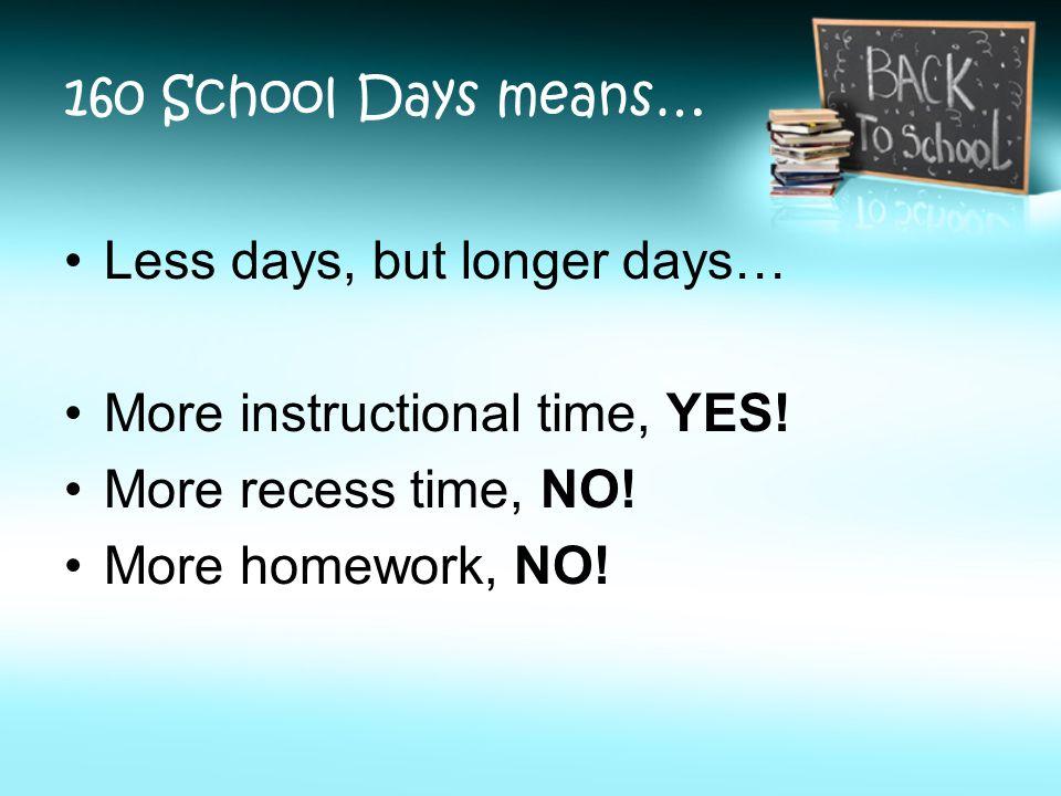 essay longer school days