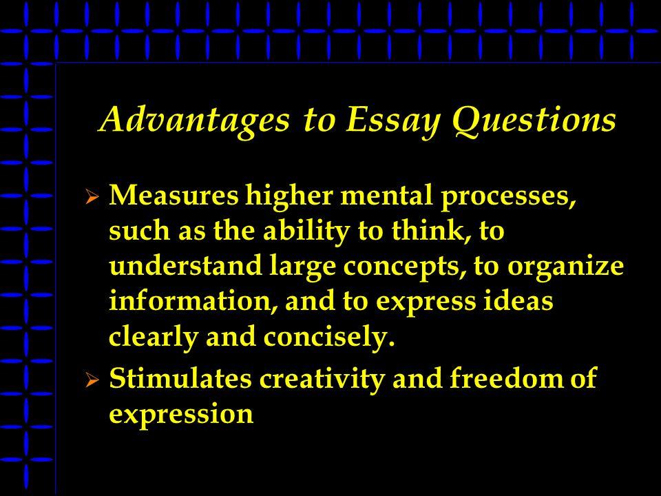 essay topics advantages disadvantages