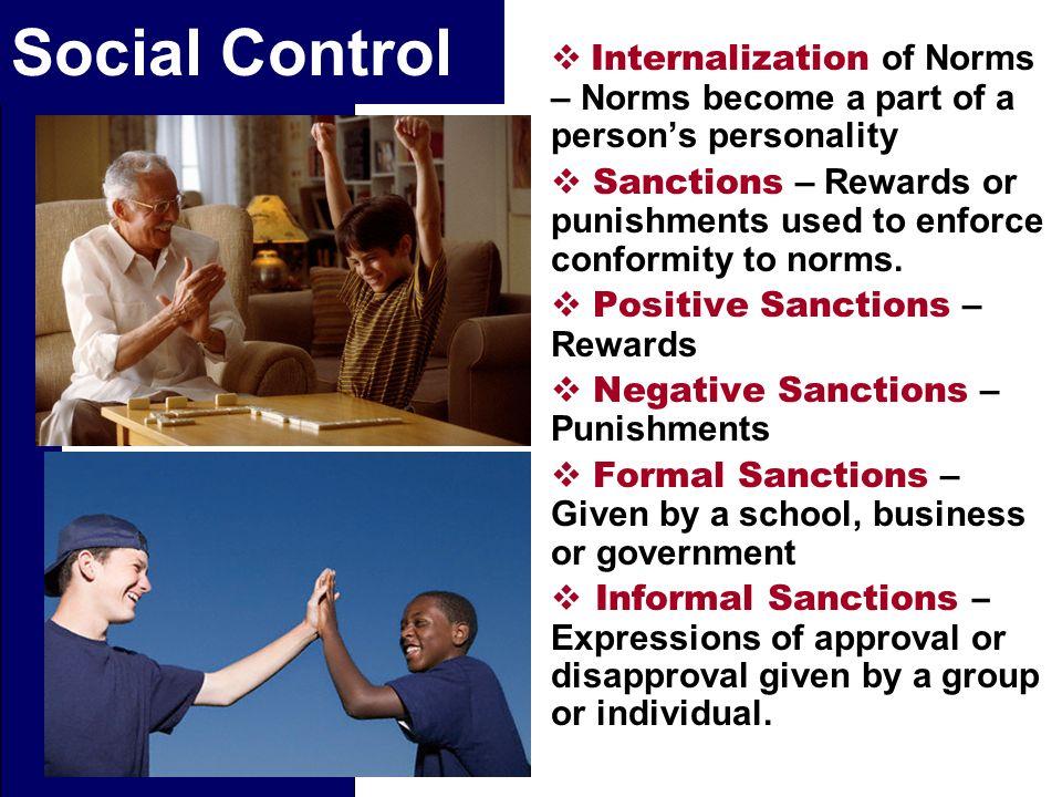 sanctions sociology