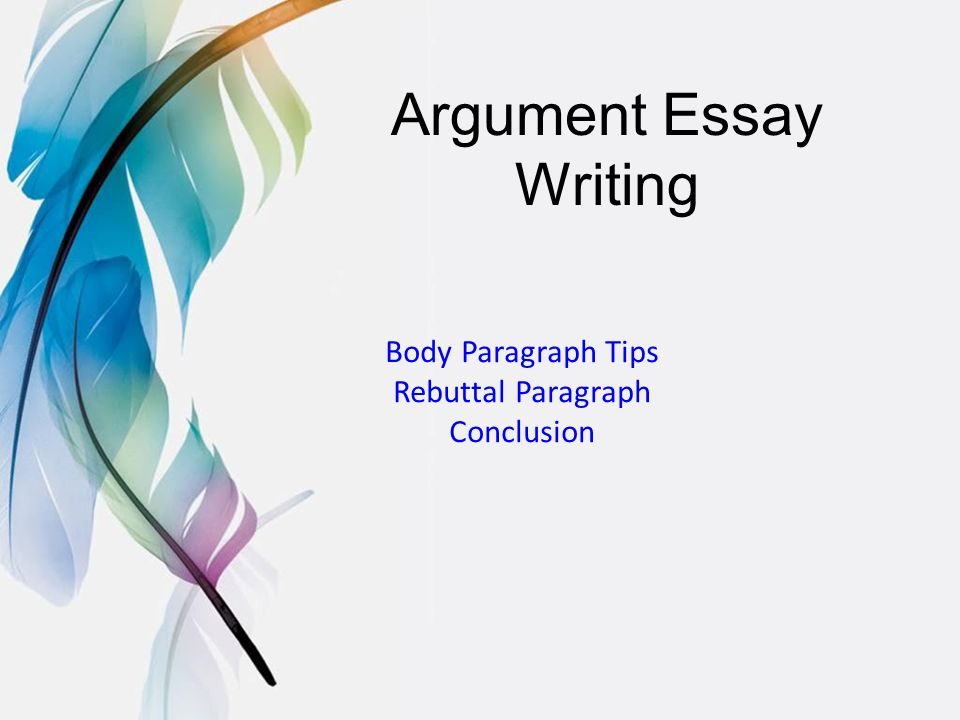 argument essay teenage