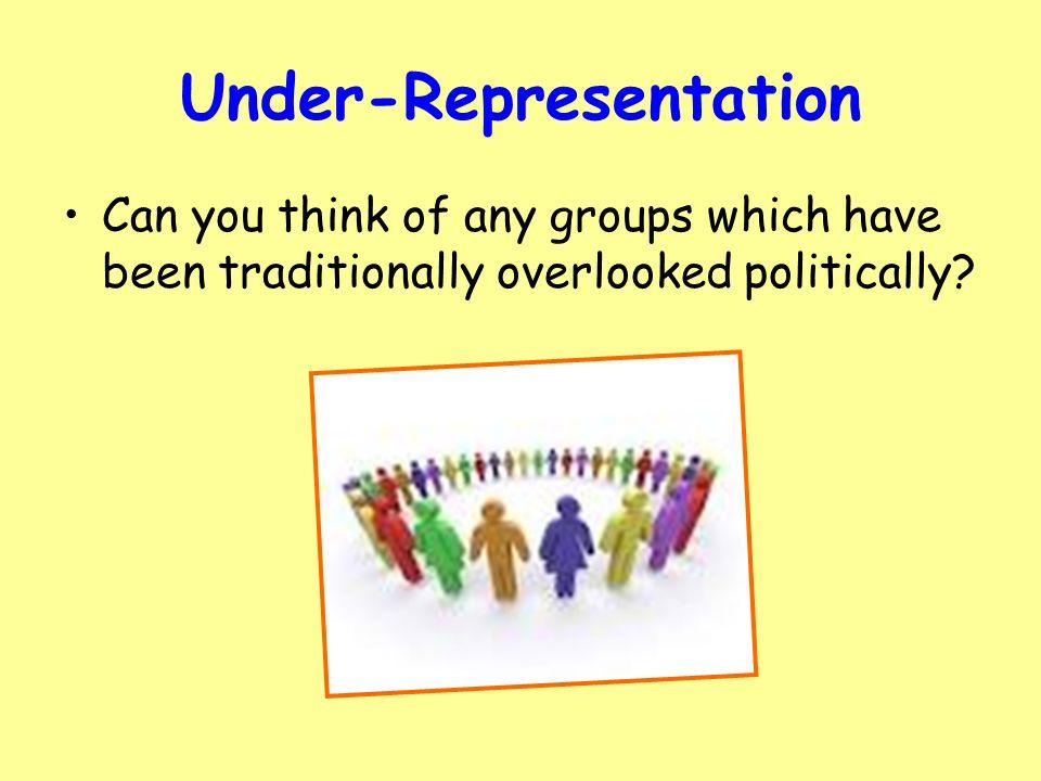 represantation in politically