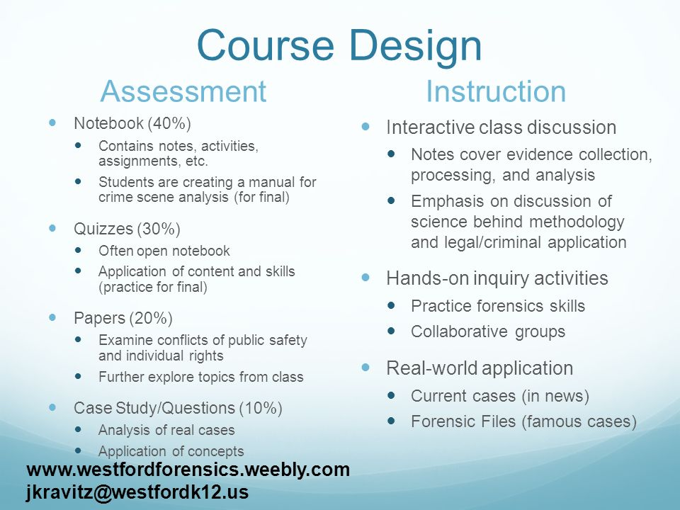 forensic science case studies for students Introduction to forensic science from nanyang technological university, singapore what is the science behind their work the course aims to explain the scientific principles and techniques for nanyang technological university (ntu) students, please be noted that this course will no longer be.