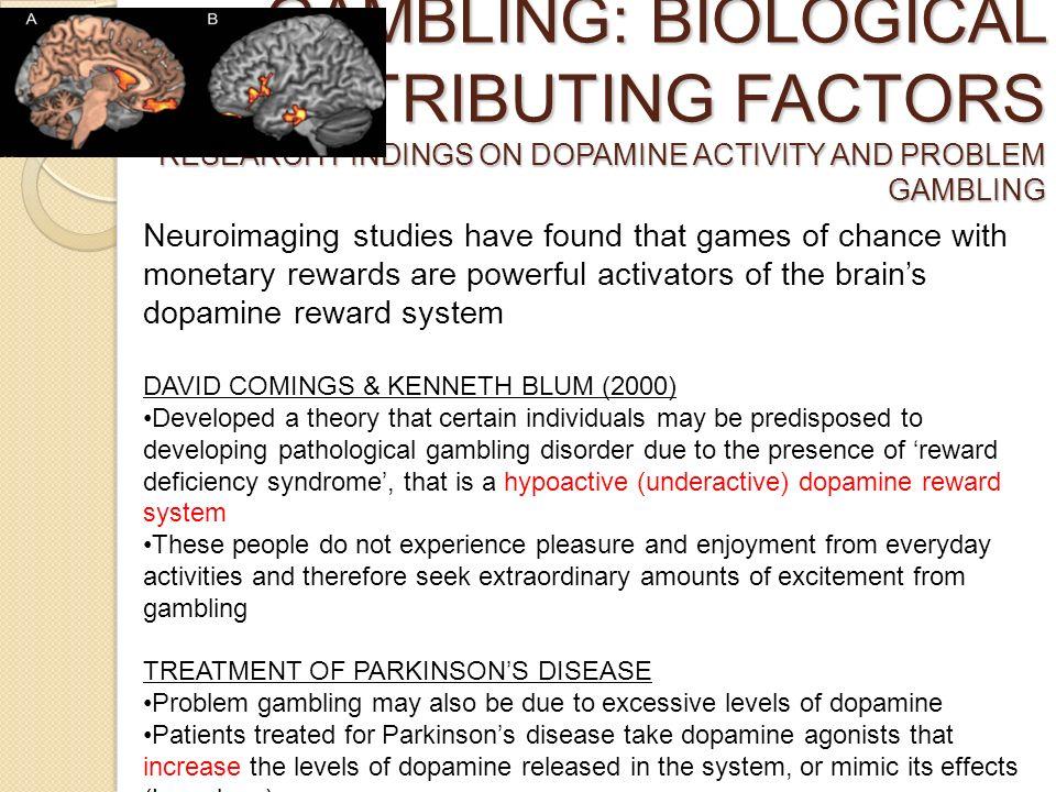 Dopamine agonist treatment and gambling addiction saint cayetano gambling