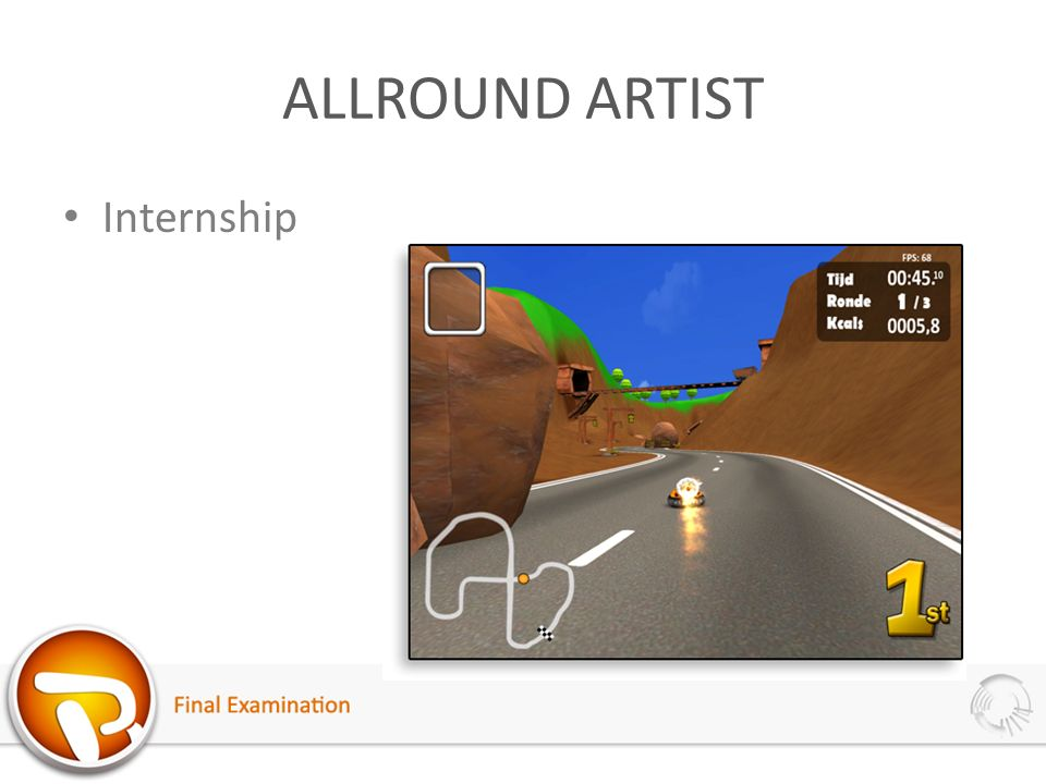 ALLROUND ARTIST Internship
