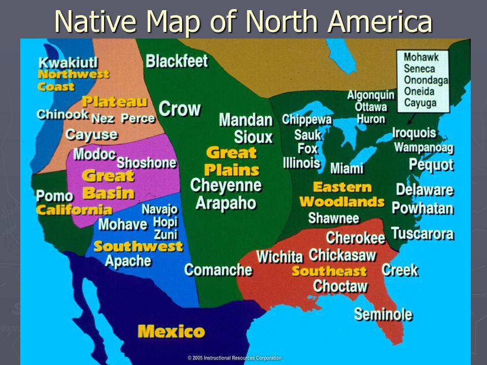 NATIVES AND EUROPEANS Unit IA AP US History Bering Sea Land - Ap map of us