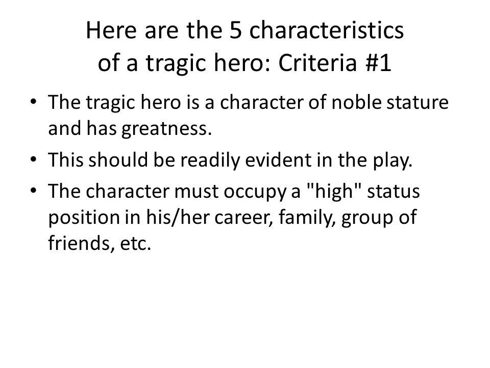 aristotles description of the tragic hero macbeth