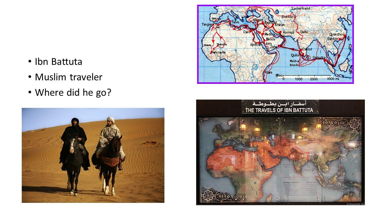 worksheet Ibn Battuta Worksheet africa and asia ibn battuta muslim traveler where did he go ppt 2 ibn