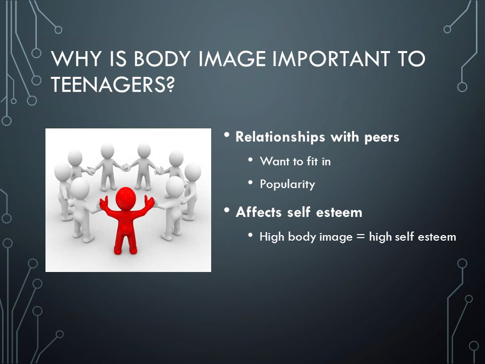 WHY IS BODY IMAGE IMPORTANT TO TEENAGERS.