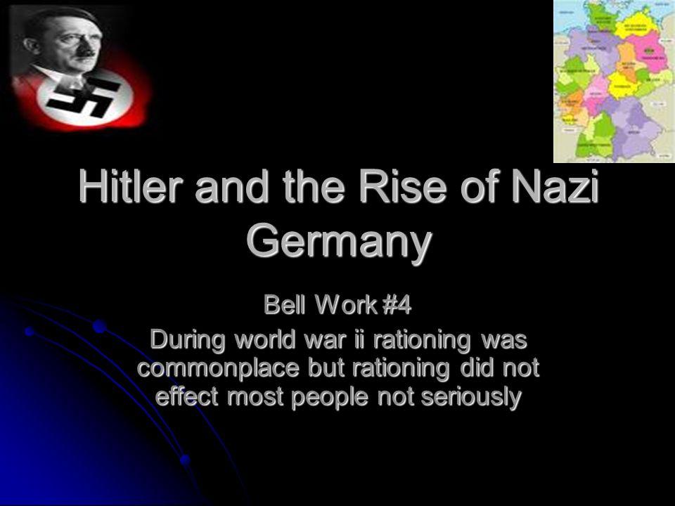 Work in nazi germany?