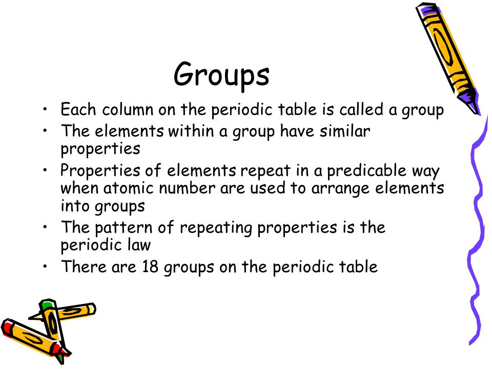 Chapter 5 the periodic table 5 1 organizing the elements what does 14 periods urtaz Images