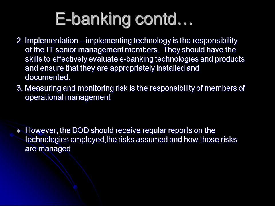 E-banking contd… 2.