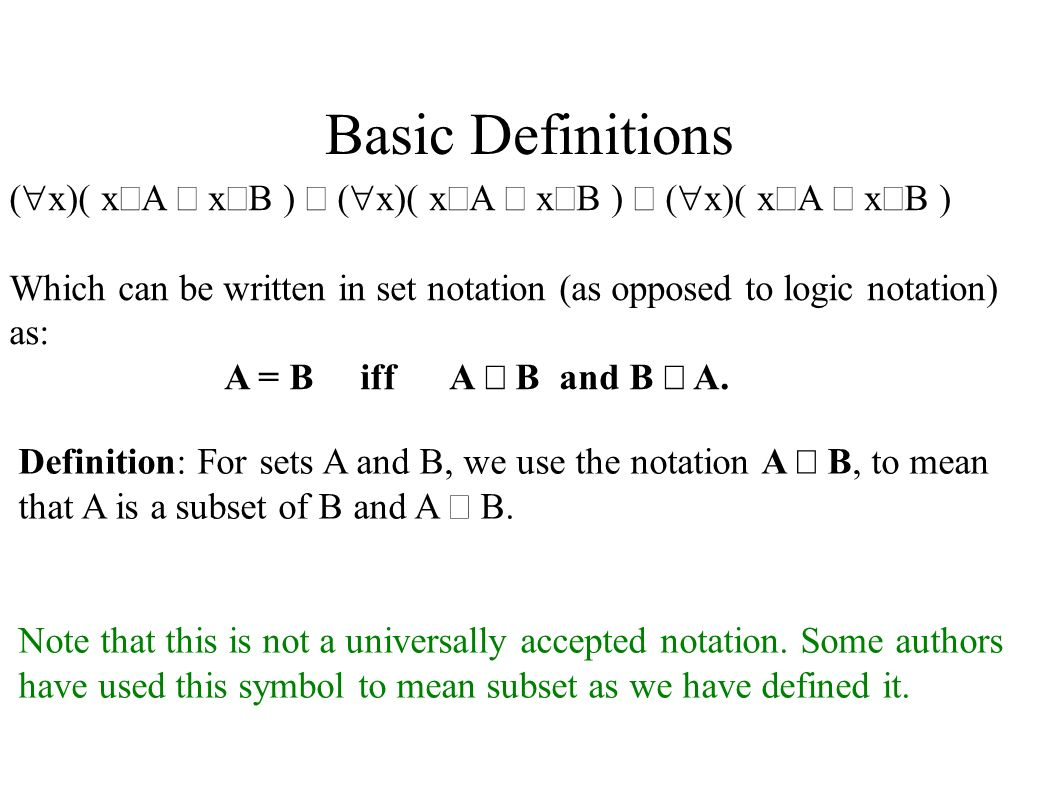 Nave set theory basic definitions nave set theory is the non basic definitions x x a x b biocorpaavc Images