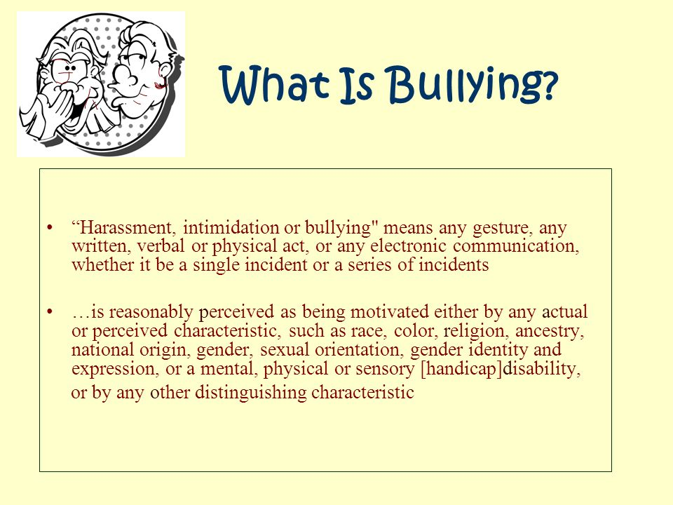 bullying and meanness as a theme Understanding playful vs hurtful teasing and bullying behavior this pamphlet is designed to help parents and students navigate the unclear roadways.