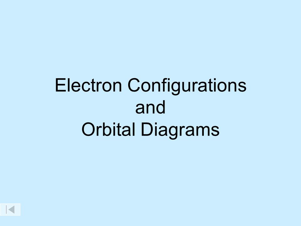 Electron Configurations and Orbital Diagrams Maximum Number of ...