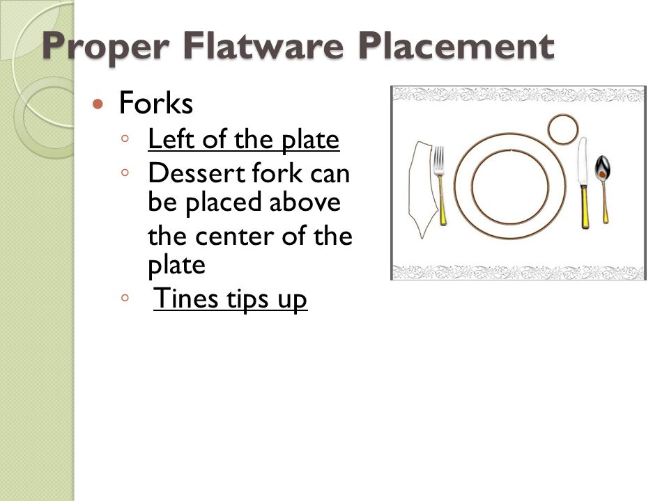 Table Setting And Etiquette Why Dining Etiquette Definition - Proper table setting placement