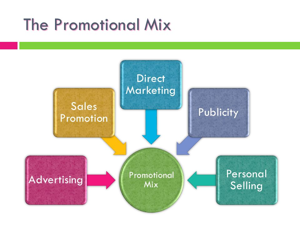 marketing mix and promotion mix The key difference between marketing and promotion is the fact that promotion is a part of a companies overall marketing mix the marketing mix consists of price, product, place and promotion thus, marketing exists without promotion but promotion doesn't exist without marketing.