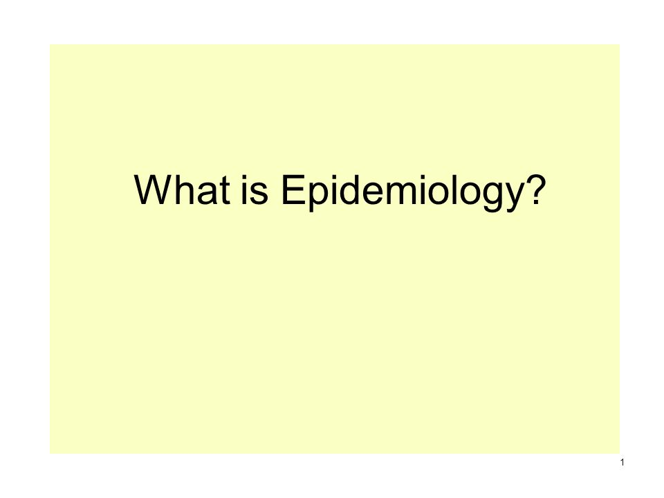 what is epidemiology? 1. a term derived from the greek: epi : on, Human Body